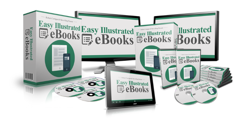 Easy illustrated ebooks Review